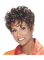 African American Hairstyle Short Curly Women Wig 10 Inches