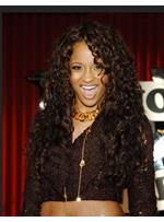 Custom Ciara Hair Style- Lace Front Cap Long Afro Curly 100% Human Hair Perfect Wig 24 Inches