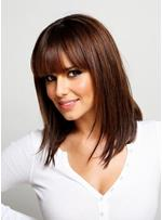 Cheryl Cole Hot Sale Top Quality Long Straight Hair Wig 14 Inches