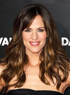 Soft Oscar Celebrity Hairstyle Long Wavy 18 Inches Chocolate Color 100% Human Remy Hair Lace Wig