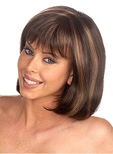 100% Real Human Hair Short Straight 12 Inches Popular Bob Wig
