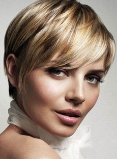 Short Hairstyle Trend Elegant 100% Human Remy Hair 6 Inches Wig
