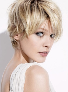 New Arrival Charming 100% Human Hair Short Straight Top Quality Wig