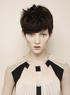 New Super Short Winona Ryder Pixie's Hairstyle 100% Human Remy Hair Celebrity Wig