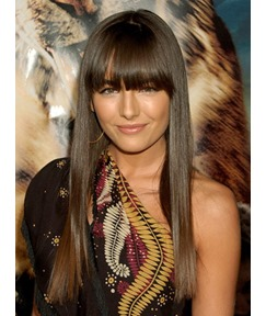 Attractive Celebrity Hair Style Long Straight 20 Inches Light Brown Shining Perfect Wig