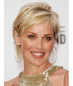 Pixie Hairstyle Short Straight 6 Inches Capless Hair Wigs for Older Women