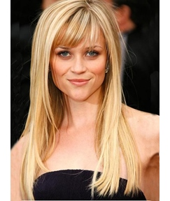 New Arrival Long Straight Blonde 18 Inches Natural Sexy Pretty Bob Wig 100% Human Hair
