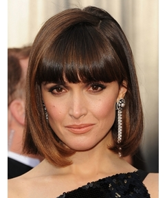 Top Quality Oscar Hairstyle Short Straight Blonde 10 Inches Shining Perfect Wig