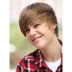 Custom Justin Biebers Cool Hairstyle Hand Tied Top Quality 100% Human Real Hair Short Straight Brown Wig 8 Inches