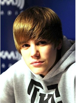 Cool Amazing Justin Biber Hairstyle Short Straight Dark Blonde Wig 8 Inches