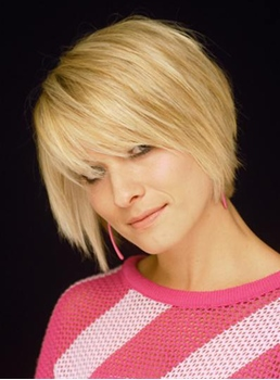 Classical Short Hairstyle 100% Human Remy Hair Straight Natural Cheap Wig