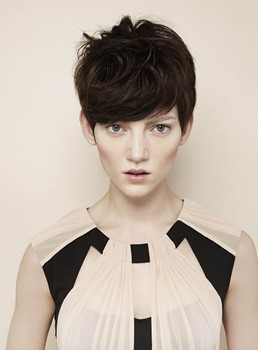 Winona Ryder Short Pixie Hairstyle 100% Human Remy Hair Celebrity Wigs