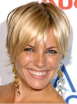 Custom 100% Human Remy Hair Short Celebrity Graceful Hairstyle 4 Inches Straight Full Lace Wig