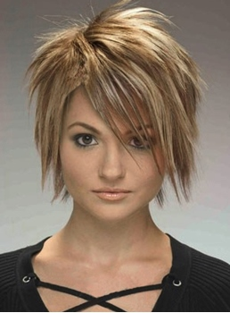 Cool Amazing Short Straight Blonde Wig 8 Inches