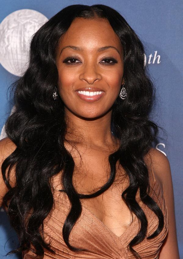 Custom Fashion Long Wavy 22 Inches Super Natural Smooth Black Hand Tied Lace Wig