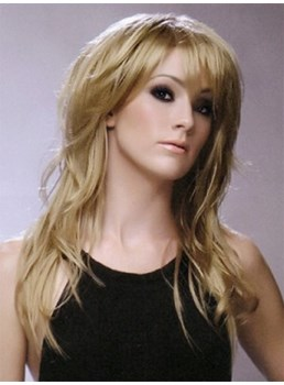 Attractive Bedhead Long Length Blonde Wig 18 Inches Cater For Your Fashion Demands