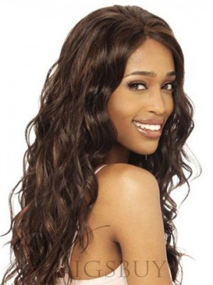 African American Popular 20 Inches Body Wavy Light Brown Perfect Lace Wig
