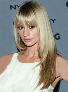 Newest Free Style Long Straight Blonde Wig 100% Human Remy Hair with Full Bang Top Sale Wig 18 Inches