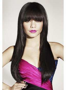 Change Your Style The Long Straight Natural Black Wig Vanessa Hudgens hairstyle 22 Inches