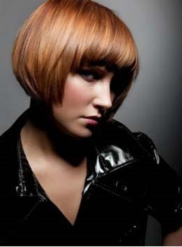 Shining Bob Hairstyle Nice Color Wig For Fashion Lady