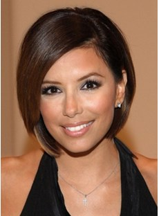The Shining Bob Hairstyle Medium Lace Front Wig Show Your Shining Light