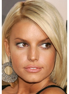 The Elegant Custom Celebrity Bob Hairstyle Lace Front Wig