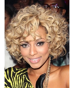 Top Sale Hair Style New Arrival Short Curly 10 Inches 150% Density Glueless Lace Front Wig 100% Human Hair