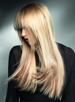Long Silky Straight Blonde Wigs 20 Inches 100% Human Hair