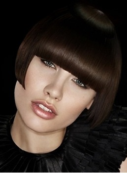 Stylish Charming Bob Short Silky Straight Black Wig 100% Human Hair Leading New Smart Fashion