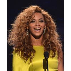 100% Human Hair Trendy Beyonces Shaggy African American Hairstyle Long Curly Swiss Lace Wig 20 Inches