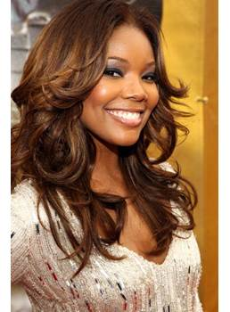 Top Quality Hand Tied 100% Human Hair Popular Charming Long Wavy Brown Full Lace Wig 18 Inches