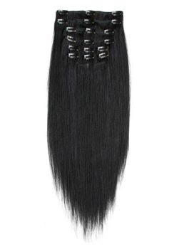 Clip in Hair Extension Straight Hair 100% Human Hair 9Pcs