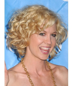 Human Hair Deep Curly Lace Front Women Wigs