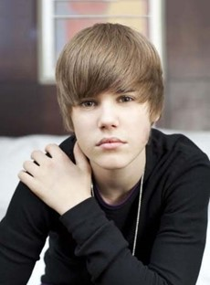 Handsome Cute Justin Bieber Hairstyle Short Straight Brown Wig 100% Human Hair 8 Inches