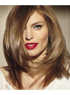 Beautiful Charming Top Quality Heat Resistant Synthetic Wig 16 Inches