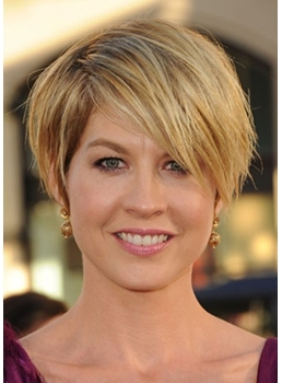 Custom Graceful Short Straight Wig Makes You More Attractive