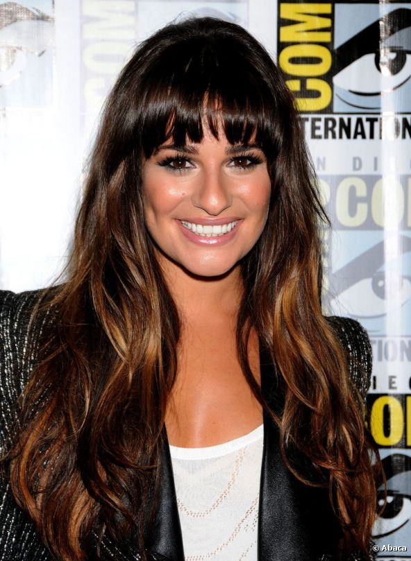 Lea Michele Hairstyle Top Quality Synthetic Wig For Sexy Ladies Beautiful and Charming 22inches