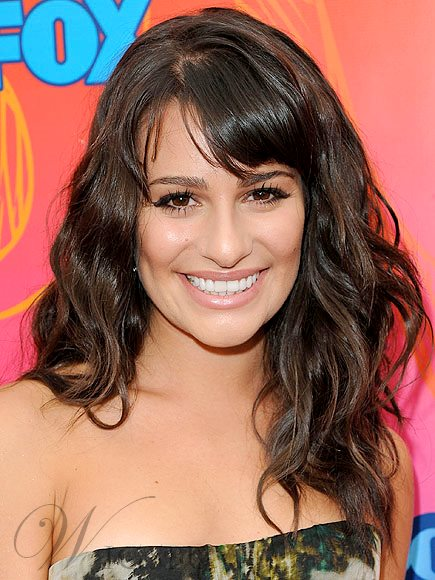Stupendous Lea Michele Hairstyle Capless Synthetic Wigs 18 Inches Wavy M Natural Hairstyles Runnerswayorg