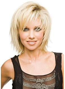 Cheap Top Quality Short Layered Straight Wig 10 Inches