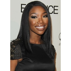 Brandy Norwood Stylish and Unique Super Sexy Custom Synthetic Lace Front Wig 18 Inches Wavy
