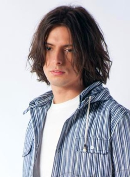 Hot Sexy Man Hairstyle Medium Straight Brown Full Lace Wig 100% Human Hair 10 Inches