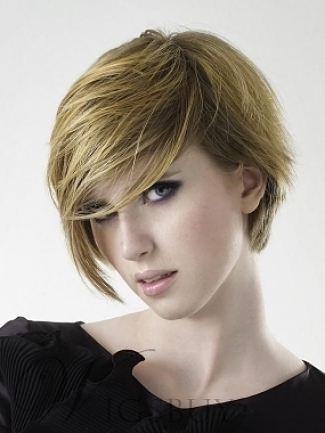 Hot Sale High Quality Short Straight Wig Makes You More Charming 9877983