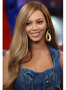 Beyonce Long Wavy Remy Hair Full Lace Wigs 22 Inches