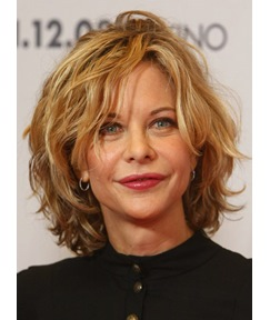 Elegant and Beautiful Messy Short Layered Wavy 100% Human Hair Full Lace Wig 10 Inches