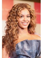 New Arrival Charming Beyonce's Hairstyle Thick Long Curly Lace Wig 22 Inches
