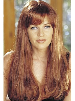 Hot Sale Top Quality Celebrity Hairstyle Long Natural Straight Wig 20 Inches 100% Human Hair