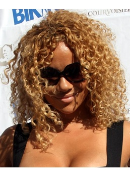 New Classic Afro Hairstyle Medium Small Curly Lace Wig 14 Inches