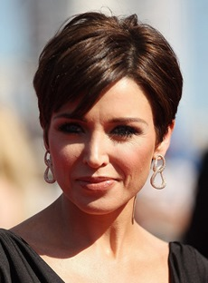 Boutique Elegant Short Straight Full Lace Wig 100% Indian Human Hair