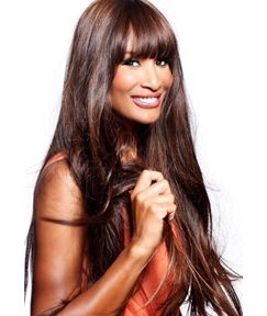 Celebrity Noble Hairstyle Attractive Long Straight Super Comfortable Wig 100% Human Hair 24 Inches