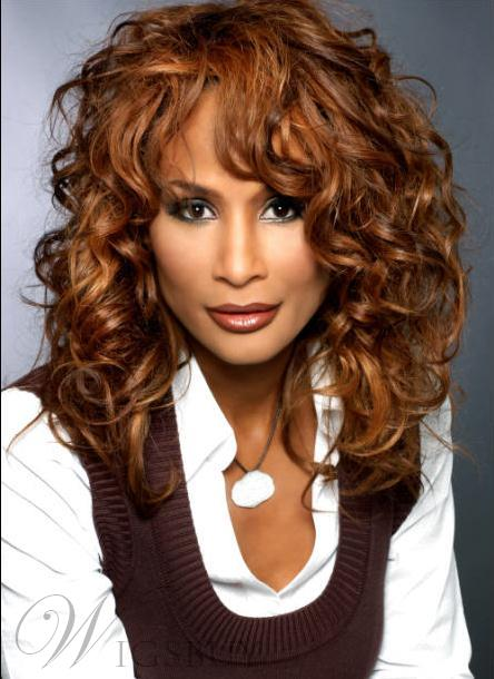 Hot Sale Top Quality Beverly Johnson Hairstyle Long Curly